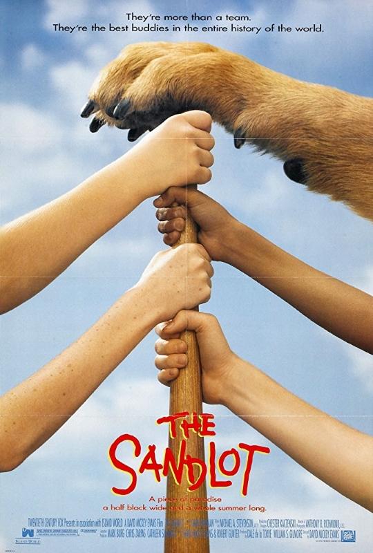 Sandlot 1993 Poster