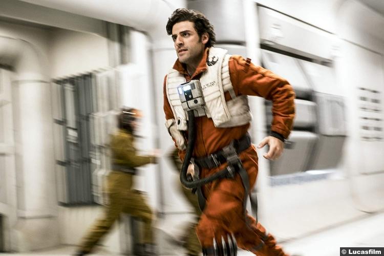 Star Wars Last Jedi Oscar Isaac Poe Dameron 2