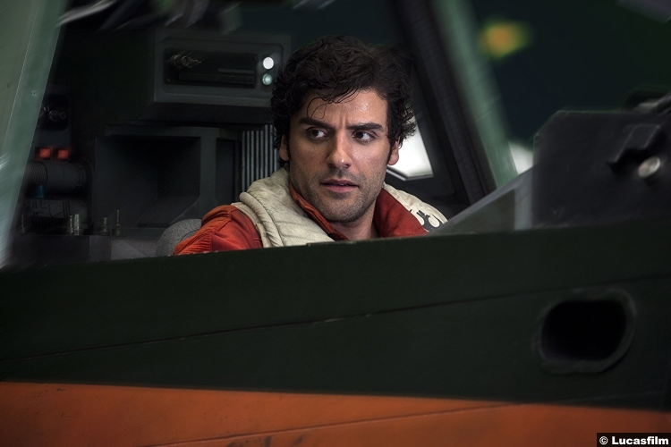 Star Wars Last Jedi Oscar Isaac Poe Dameron