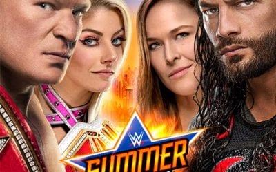 Wwe Summerslam 2018 Poster 2