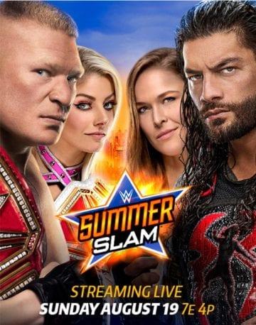 Wwe Summerslam 2018 Poster