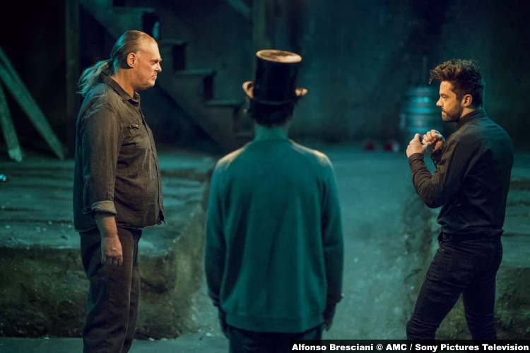 Preacher S3e10 Dominic Cooper Jesse Custer Colin Cunningham Tc Jeremy Childs Jody