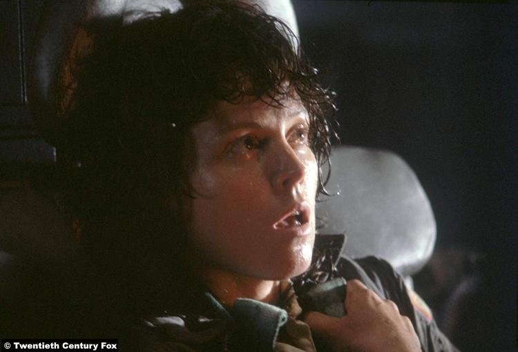 Alien 1979 Sigourne Weaver