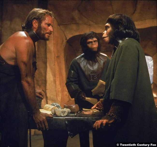 Planet Apes 1968 Charlton Heston 2