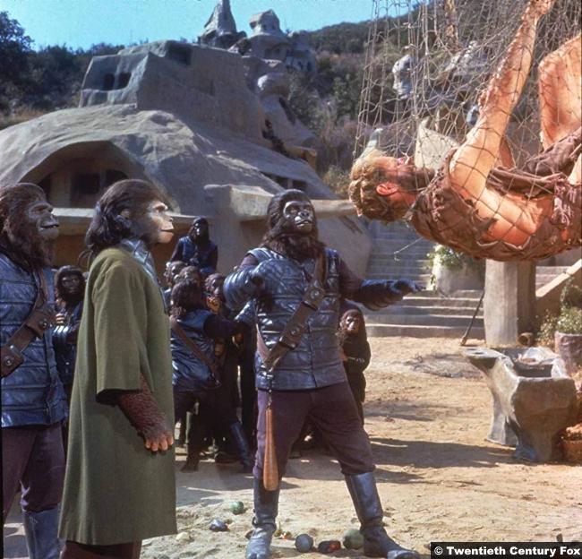 Planet Apes 1968 Charlton Heston 3