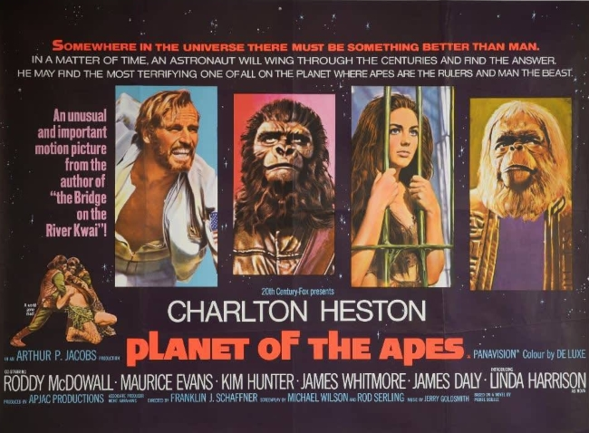 Planet Apes 1968 Poster