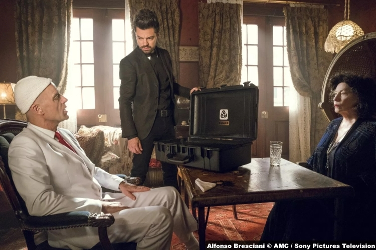 Preacher S3e7 Pip Herr Starr Dominic Cooper Jesse Custer Betty Buckley Granma