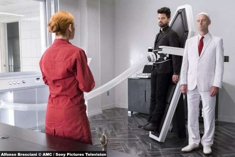 Preacher S3e8 Karen Strassman Dr Louis Slotnick Pip Herr Starr Dominic Cooper Jesse Custer