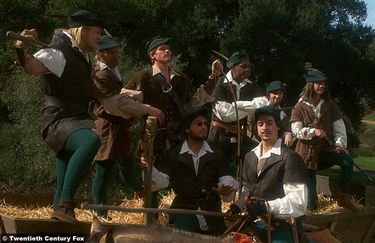 Robin Hood Men Tights 1
