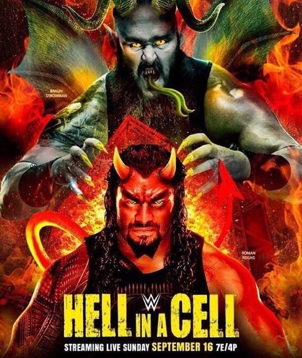 Wwe Hell Cell Poster 2018