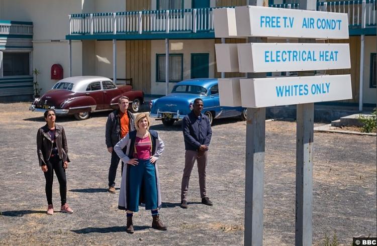 Doctor Who S011e03 Yasmin Mandip Gill Ryan Tosin Cole Jodie Whittaker Graham Bradley Walsh