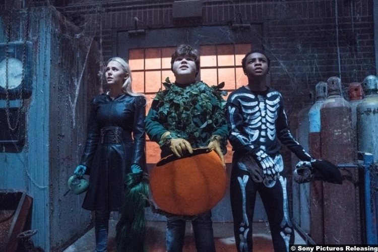 Goosebumps 2 Caleel Harris Jeremy Ray Taylor Madison Iseman