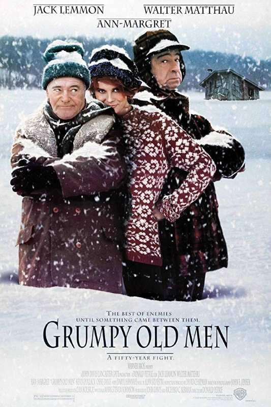 Grumpy Old Men 1993 Poster