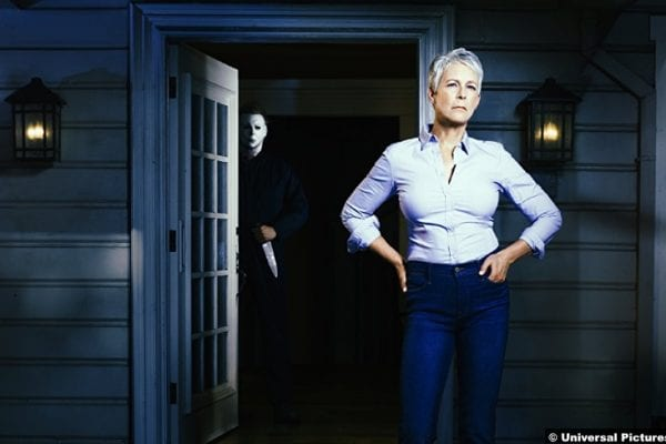 Halloween 2018 Jamie Lee Curtis Michael Myers