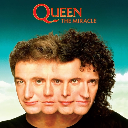 Queen Miracle Album Cover