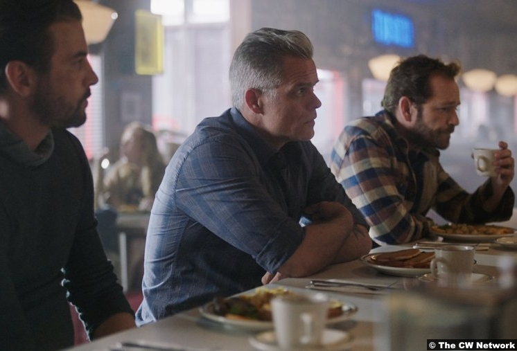 Riverdale S03e02 Luke Perry Fred Andrews Fp Jones Skeet Ulrich Tom Keller Martin Cummins