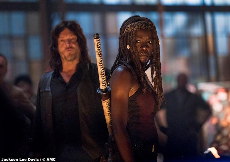 Walking Dead S09e01 Daryl Michonne