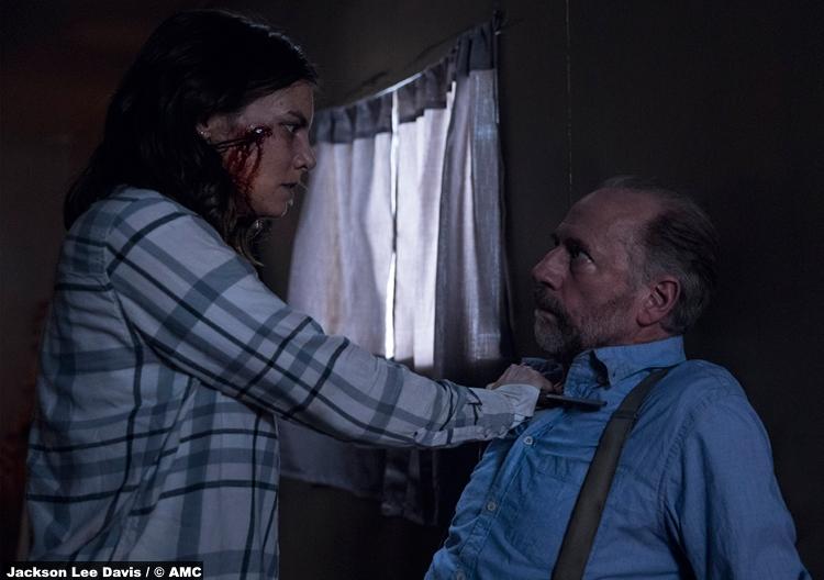 Walking Dead S09e01 Maggie Gregory
