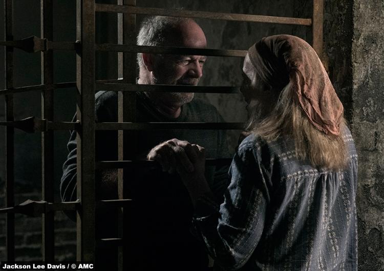 Walking Dead S09e02 Earl John Finn Tammy Brett Butler