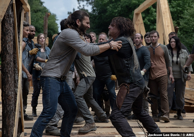Walking Dead S09e02 Justin Zach Mcgowan Daryl Dixon Norman Reedus