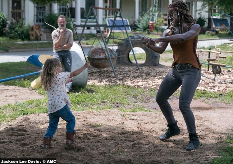 Walking Dead S09e03 Michonne Danai Gurira