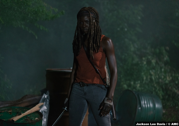 Walking Dead S09e04 Michonne Danai Gurira