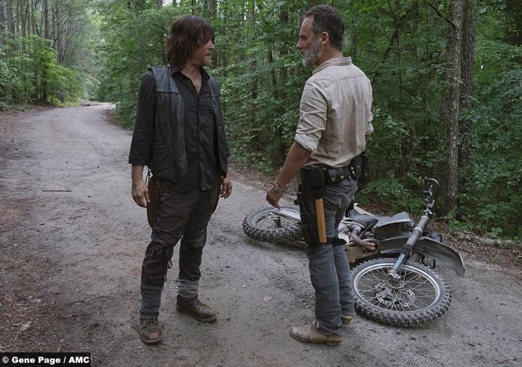 Walking Dead S09e04 Rick Grimes Daryl Dixon