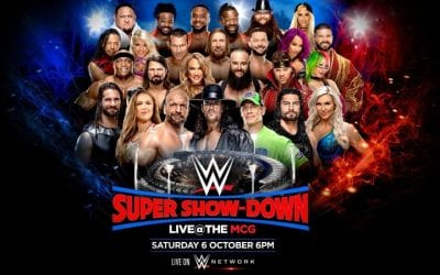Wwe Super Showdown 2018 Poster