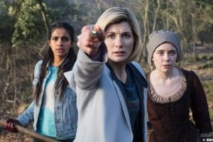 Doctor Who S011e08 Yasmin Mandip Gill Jodie Whittaker Tilly Steele Willa Twiston