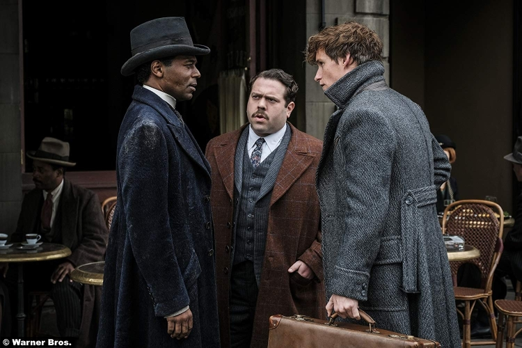 Fantastic Beasts Crimes Grindelwald Dan Fogler William Nadylam Eddie Redmayne