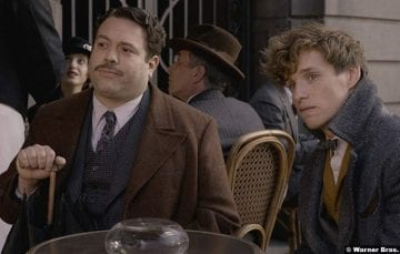 Fantastic Beasts Crimes Grindelwald Eddie Redmayne Dan Fogler