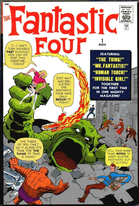 Fantastic Four Edition One Comic
