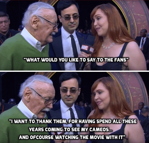 Stan Lee Say Fans