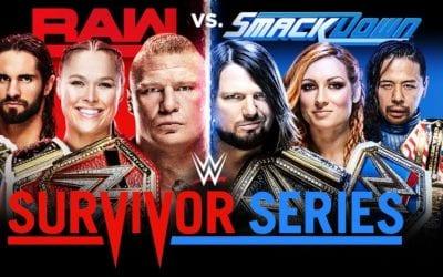 Survivor Series 2018 Poster 2
