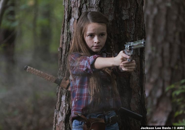Walking Dead S09e05 Cailey Fleming Judith Grimes