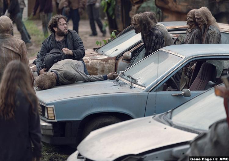 Walking Dead S09e07 Luke Dan Fogler