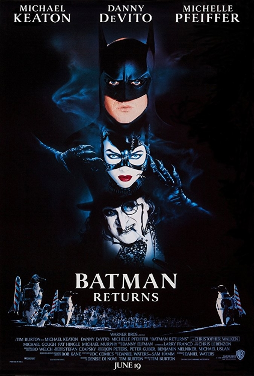 Batman Returns 1992 Poster