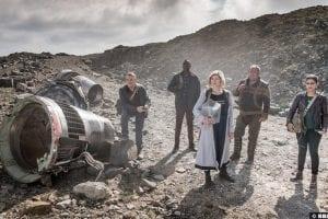 Doctor Who S011e10 Yasmin Mandip Gill Ryan Tosin Cole Jodie Whittaker Graham Bradley Walsh