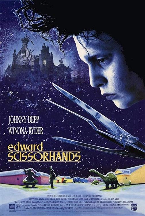 Edward Sissorhands 1990 Poster