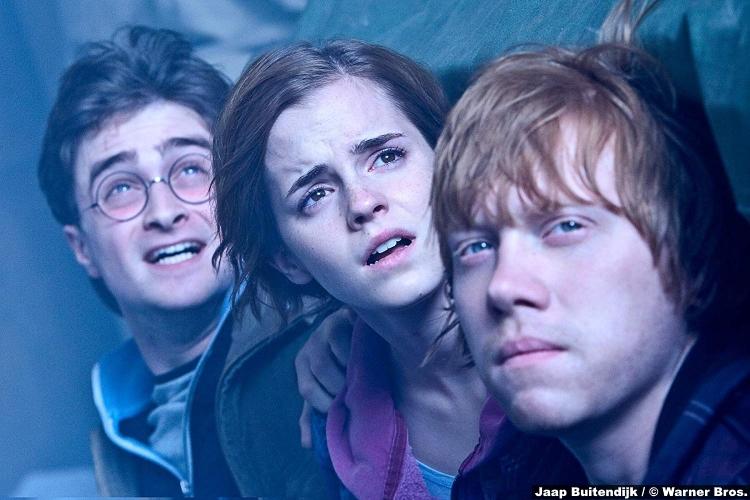 Harry Potter Deathly Hallows P2 Daniel Radcliffe Rupert Grint Ron Weasley Emma Watson Hermione Granger