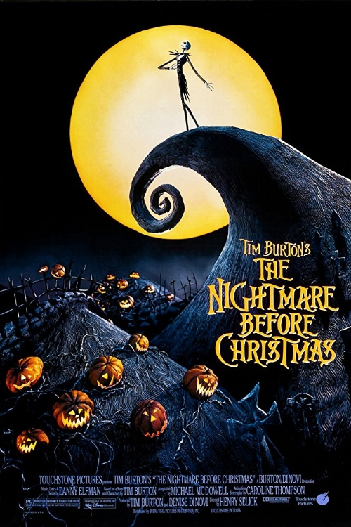 Nightmare Before Christmas 1993 Poster