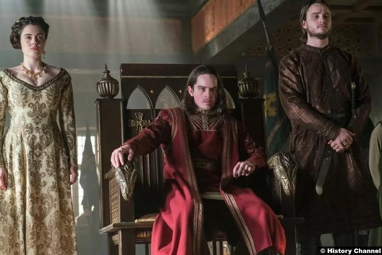 Vikings S05e14 Ferdia Walsh Peelo King Alfred