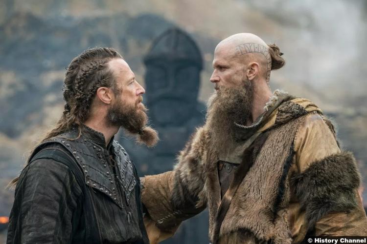 Vikings S05e15 Gustaf Skarsgard Floki