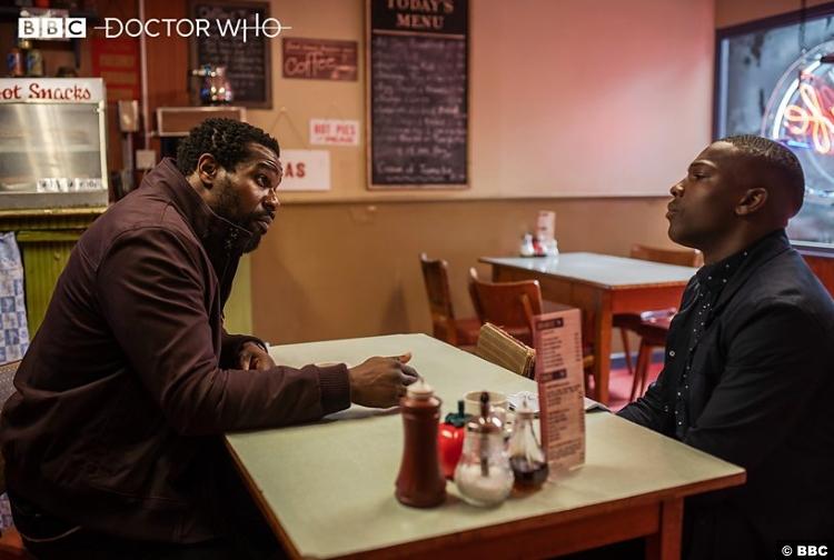 Doctor Who S11e11 Daniel Adegboyega Aaron Tosin Cole Ryan