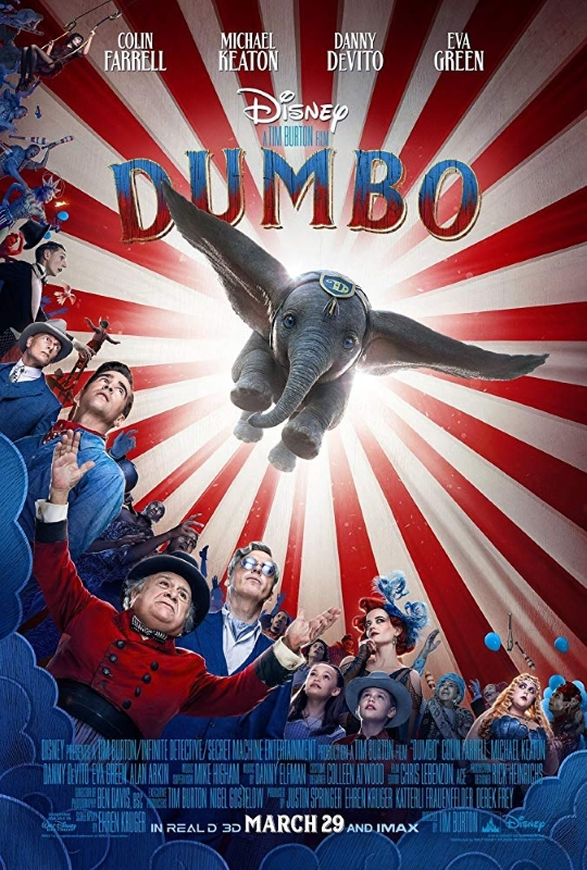 Dumbo Movie Poster 2019