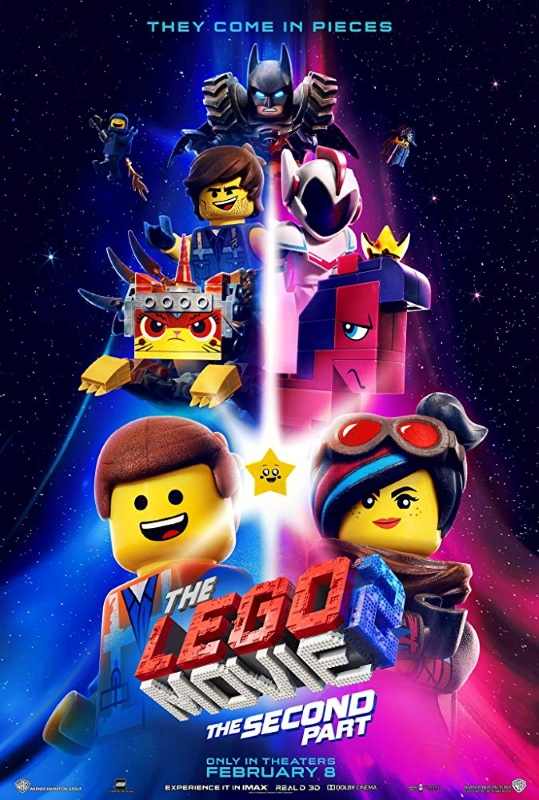 Lego Movie 2019 Poster