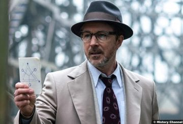 Project Blue Book S01e01 Aiden Gillen Dr Allen Hynek 2