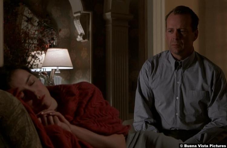 Sixth Sense Olivia Williams Anna Bruce Willis Malcolm Crowe