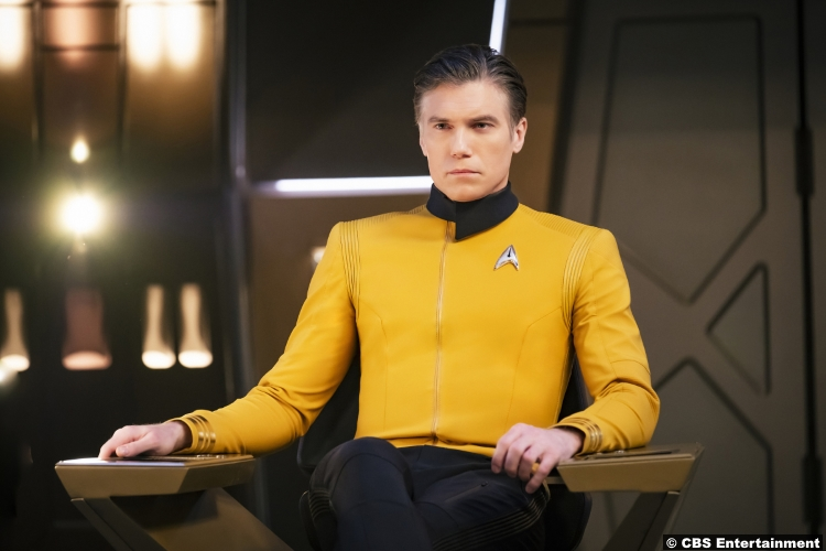 Star Trek Discovery Anson Mount Captain Christopher Pike
