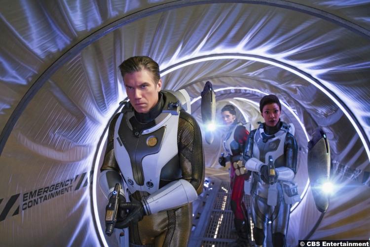 Star Trek Discovery S02e01 Anson Mount Rachael Ancheril Sonequa Martin Green Captain Christopher Pike Nhan Michael Burnham